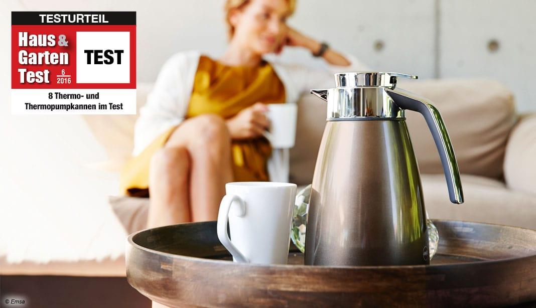 im test 8 thermokannen im vergleichstest haus garten test. Black Bedroom Furniture Sets. Home Design Ideas