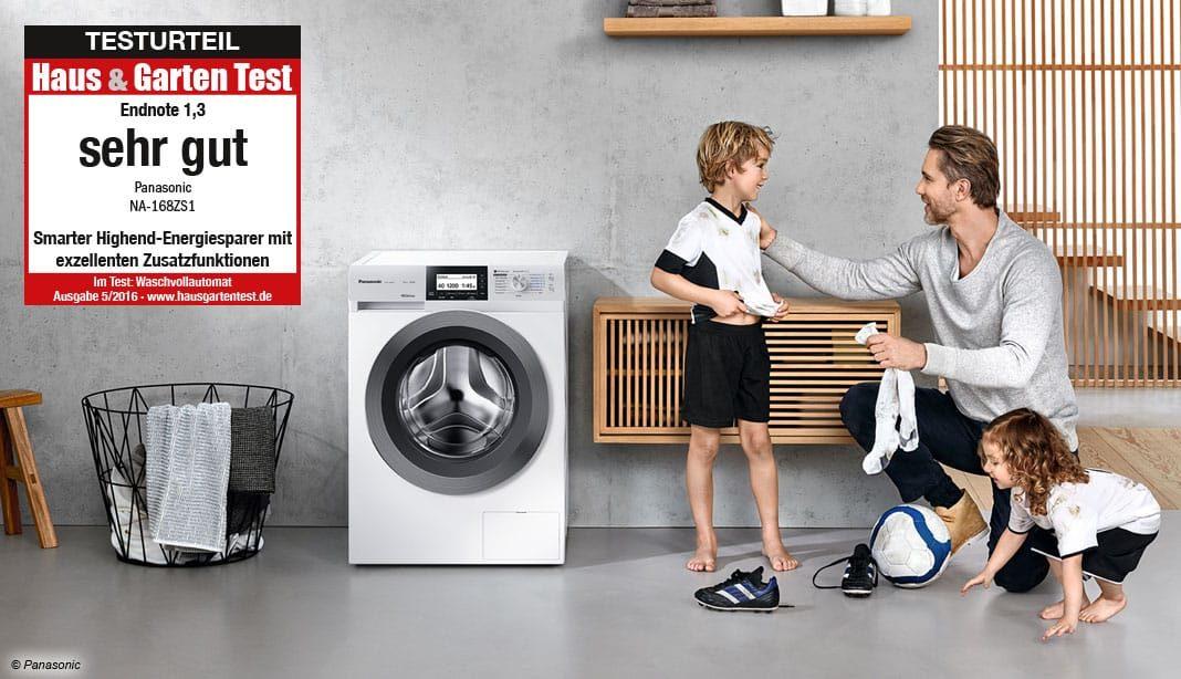 Panasonic Waschmaschine Test