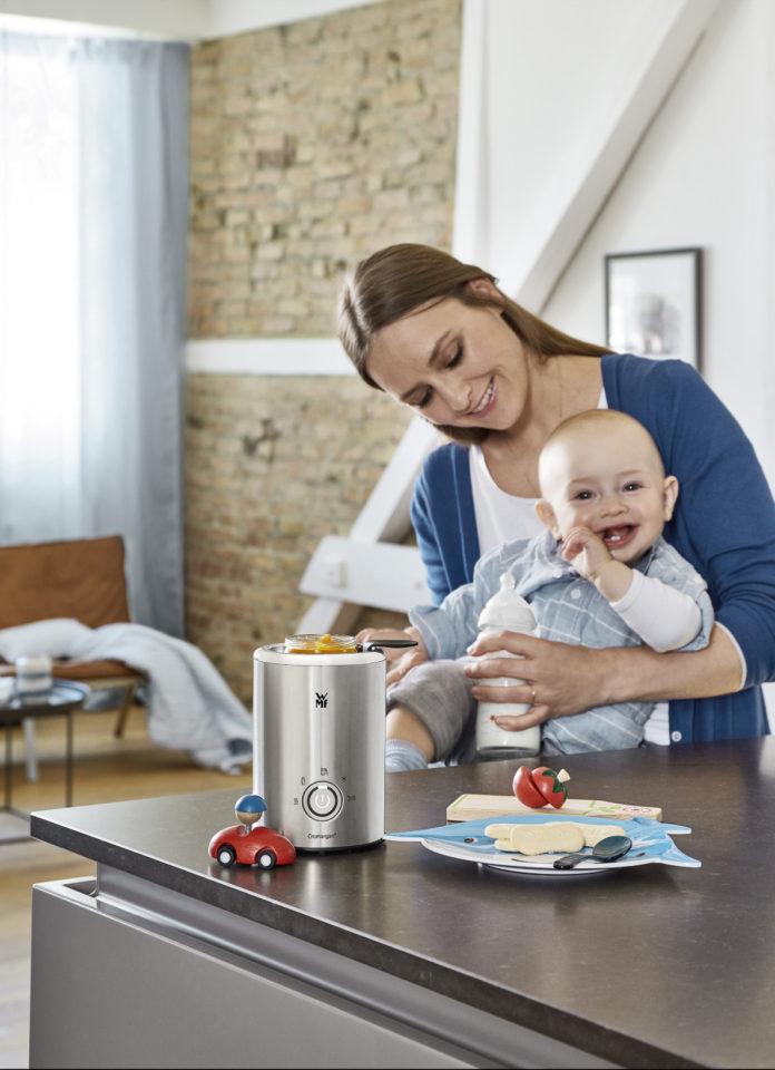 Neben seinem tollen Aussehen punktet der WMF LONO Babykost- und Flaschenwärmer mit hochwertigen Funktionen