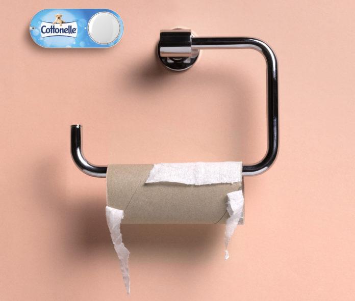 Das Toilettenpapier geht zur Neige? Mit Amazon Dash Buttons ist es schnell bestellt