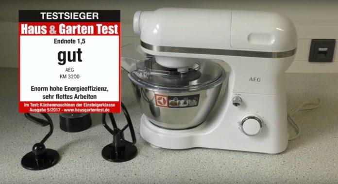 Kuchenmaschine Aeg Km3200 Testvideo Haus Garten Test