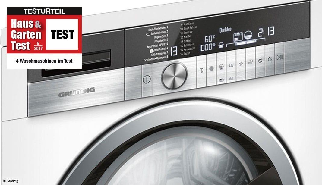 im test 4 waschmaschinen im vergleichstest haus garten test. Black Bedroom Furniture Sets. Home Design Ideas