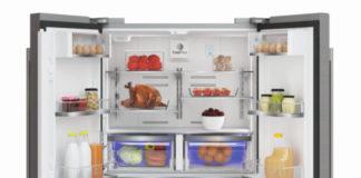 Der geräumige Side-by-Side Kühlschrank mit integriertem Weinkühler GWN 21210 X von Grundig erleichtert Wocheneinkauf und Festtagsplanung