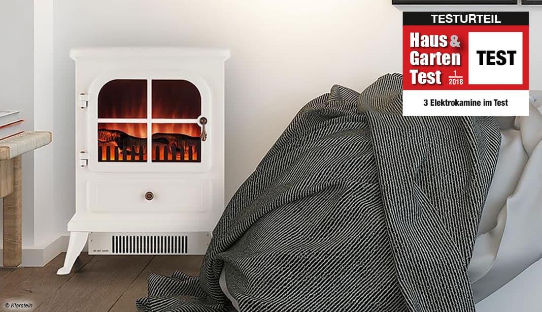 im test 3 elektrokamine im vergleichstest haus garten test. Black Bedroom Furniture Sets. Home Design Ideas