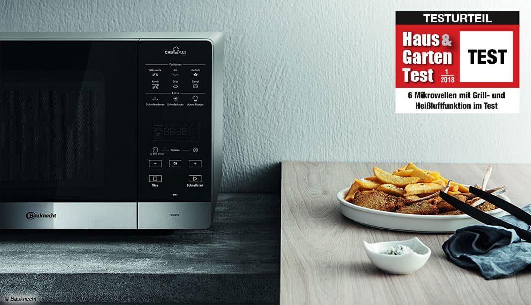 6 Mikrowellen Mit Grill- Und Heißluftfunktion Im Test
