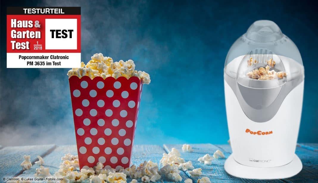 Clatronic Popcornmaker Test 2018