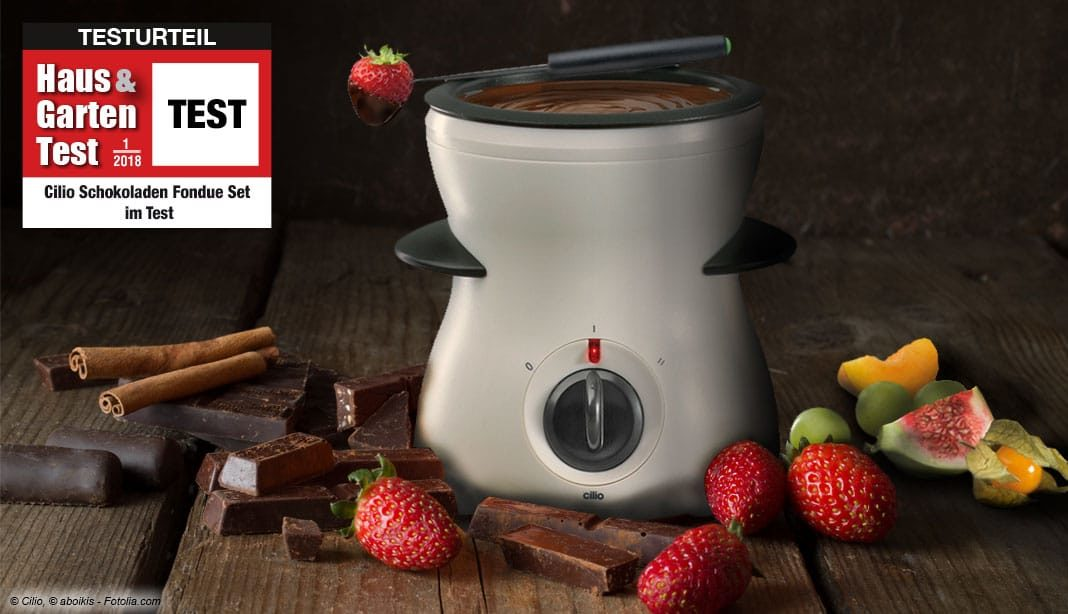 Cilio Schokoladen Fondue Test 2018