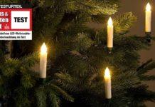 Weihnachtsbaumbeleuchtung Test 2018