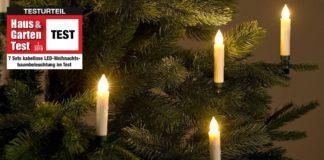 Weihnachtsbaumbeleuchtung Test