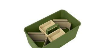 Cox Work gibt es in vier trendigen Farben, abgestimmt auf die Bedürfnisse in Küche, Bad, Arbeitszimmer, Werkraum und Garten
