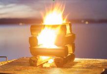 Grillbriketts aus Kokosnussschalen, sind zu 100 Prozent natürliches Abfallprodukt der Kokosnussindustrie und brennen bis zu acht Stunden bei konstanter Hitze