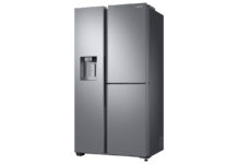Die neuen Side-by-Side Kühlschränke von Samsung sind mit ihrem eleganten Design die neuen Hingucker der Küchen