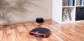 Der Reinigungs-Roboter von Sichler Haushaltsgeräte putzt vollautomatisch Teppich, Parkett, Fliesen und viele andere Bodenbeläge