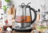 Der Wasserkocher Design Tea & More Advanced von Gastoback ist mit seinem Gareinsatz ein wahres Multitalent