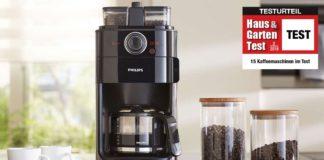 Kaffeemaschinen Test 2018