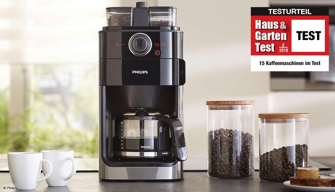 Kaffee-Mühle mit Timer Kaffee-Automat Abschalt-Automatik 1,25L Kaffee-Maschine