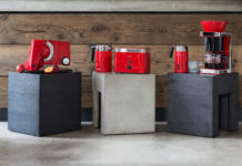 Die fünf Küchengeräte der Roten Serie von Graef perfektionieren das Frühstück