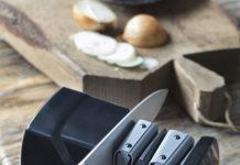 Graefs Diamant-Messerschärfer CC115 sorgt für perfekte Schärfe und für eine längere Lebensdauer der Messer