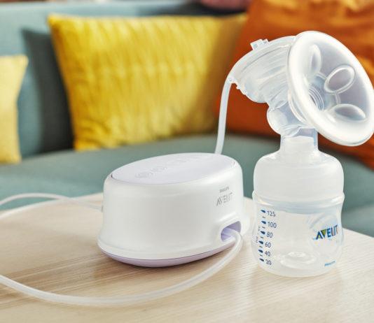 Die neue Milchpumpe Avent Ultra Comfort von Philips hilft, die Babys satt und zufrieden zu machen