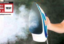 Dampfbügeleisen Test