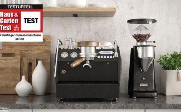 Siebträger-Espressomaschinen Test