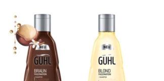 Die neue Faszination Serie von Guhl für schönes sowie gepflegtes blondes und braunes Haar