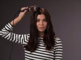 Die neue Volumen- & Glättbürste CB7A138 von Remington glättet das Haar und gibt Haaransatz und Haarenden Volumen