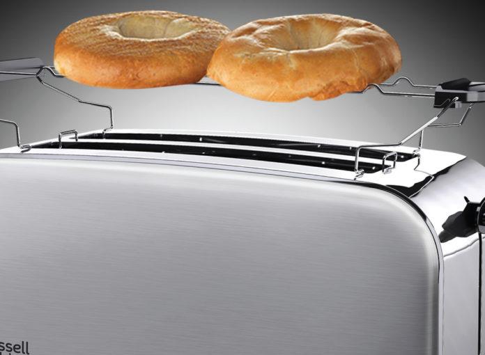 Zur Adventure Frühstücksserie bietet Hobbs gleich drei Toaster zur Auswahl, darunter ein Modell mit extra breitem Toastschlitz