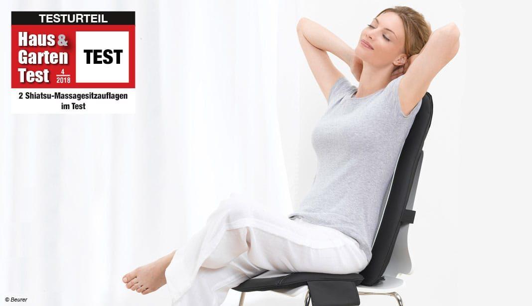 Shiatsu-Massagesitzauflagen Test 2018