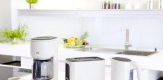 Die Braun PurEase Frühstücksserie mit Filterkaffeemaschine, Wasserkocher und Toaster verschönt den Start in den Tag