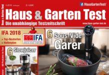 Haus & Garten Test 5/2018