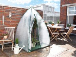 Der Gartenexperte Bio Green hilft mit seinem neuen Zubehör, auch sensible Pflanzen outdoor über den Winter zu bringen