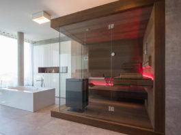 Die Sauna für Zuhause lässt sich ohne viel Aufwand ins Eigenheim integrieren