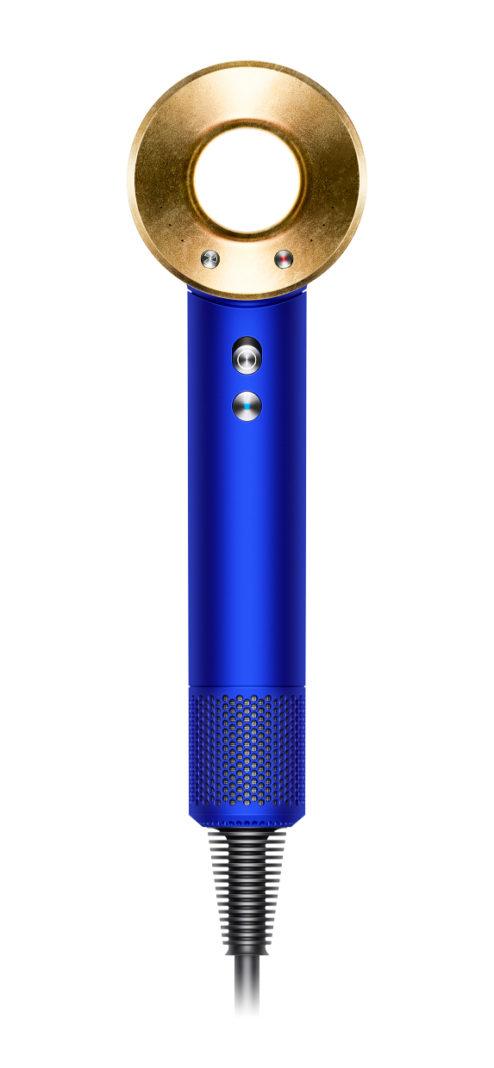 Der Dyson Supersonic Haartrockner, von Sir James Dyson entwickelt, wurde jetzt als exklusive Edition mit florentinischem Blattgold veredelt