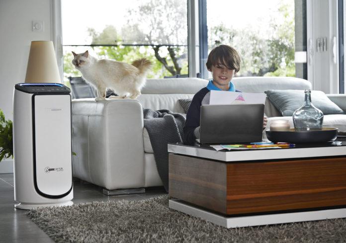 Der Intense Pure Air Connect XL von Rowenta mit smarte Steuerungsmöglichkeit per App hilft effizient gegen Allergien und Asthma