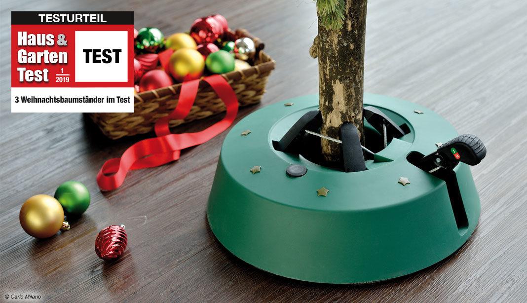 Weihnachtsbaumständer test 2019