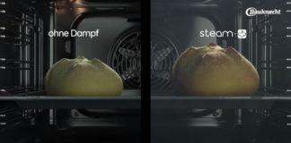Die Backöfen mit Total Steam-Technologie sind mit vier Dampfstufen, traditioneller Heißluft und intuitivem Bedienfeld moderne Küchenhelfer.