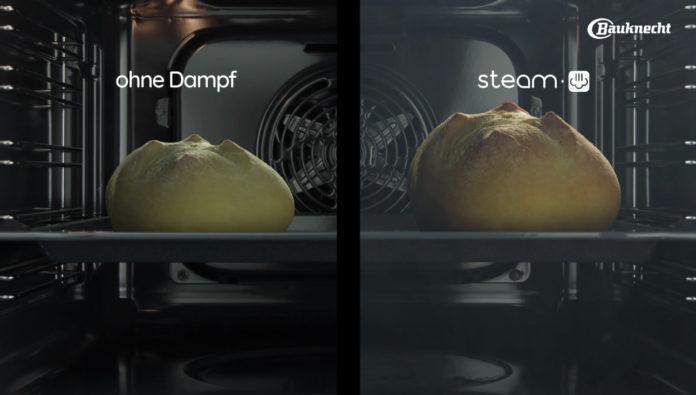 Die Backöfen mit Total Steam-Technologie sind mit vier Dampfstufen, traditioneller Heißluft und intuitivem Bedienfeld moderne Küchenhelfer