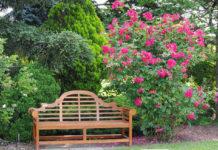 Pflegeboxen von PNZ für den Frühjahrsputz werden auch speziell für Gartenmöbel aus Echtholz angeboten