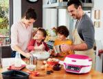 Backen mit der Tefal Cake Factory verbindet die Familie
