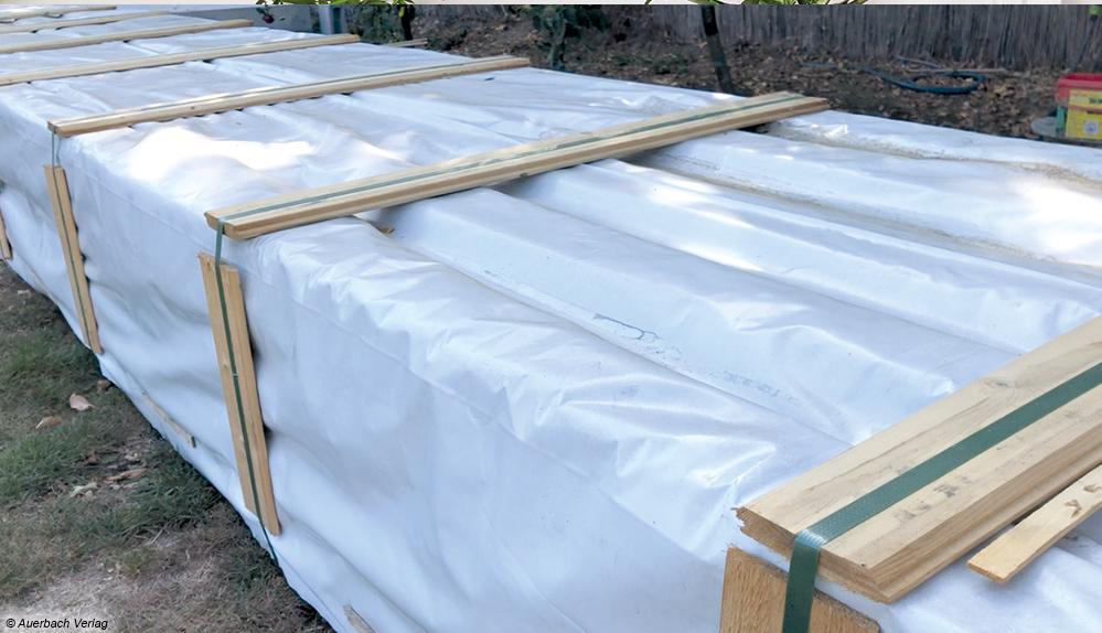 Sehr gut gegen äußere Einflüsse wie Transport- oder Wasserschäden geschützt wird das Haus in einem Paket angeliefert