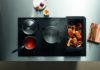 Hochwertige Induktionskochfelder mit intelligenter Sensortechnik ermöglichen flexibles Platzieren des Kochgeschirrs