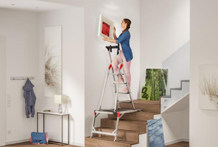 Turbo Haus & Garten Test Die passende Leiter fürs Treppenhaus von Hailo TQ68