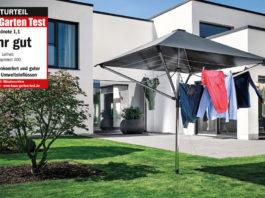 Leiheit Wäscheschirm Linoprotect 400 Test 2019