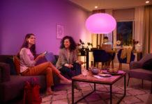 Mit Philips Hue Bluetooth kann die Beleuchtung ganz nach persönlichen Wünschen installiert und geschaltet werden