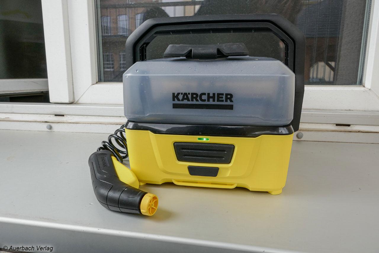 Hochdruckreiniger Set Mobiler Akku-Hochdruckreiniger für Bewässerung Reinigung
