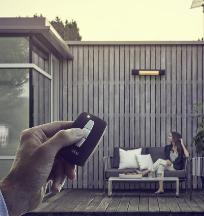 Infrarotwärme auf Balkon und Terrasse für längere Sommerabende