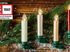 kabellose LED-Weihnachtsbaumbeleuchtung Test 2019
