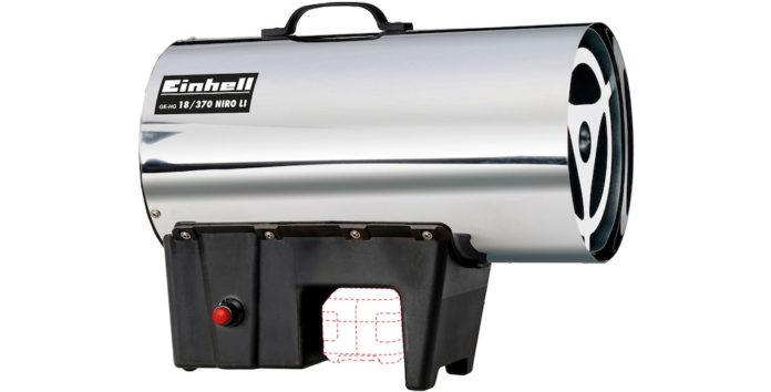 Hengda 30kW Gasheizgebl/äse Hei/ßluftgenerator mit 650 m/³//h Luftdurchsatz Gas Heizger/ät inkl Gasschlauch und Druckminderer Gasheizer Heizkanone