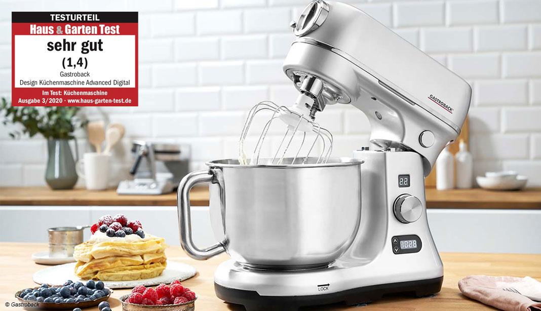 Gastroback Küchenmaschine Test 2020